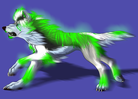 X Neon Breedable pup 1 by YukiAlecCross28