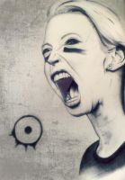 Angela Gossow by 13Enemies