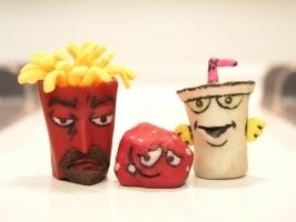ATHF Sculptures by ratgirl84
