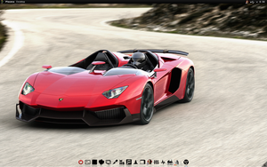 Chakra Linux Black n Red Lamborghini by CraazyT