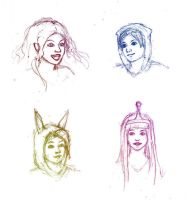 Adventure Time - Sketches by Silvanne