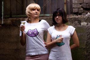 Roxy Lalonde 'n' Jane Crocker by Hattoriko