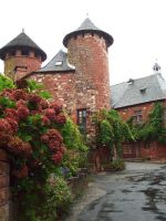 Collonges 21 - twin towers by HermitCrabStock