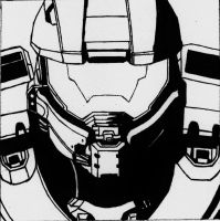 Master-Chief (Vector shadow 1) by Sacrafire