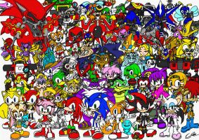 Sonic and Co - Nearly there by EUAN-THE-ECHIDHOG
