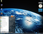 My 1st WVista Desktop 10-10-08 by Niwradsoft