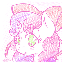 Sweetie's Little Bow by Ranoutofideas