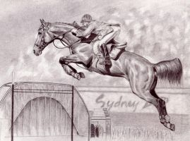 Jumping Horse Finished by superchickenn123