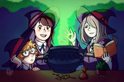 Little Witch Academia by Fuugis