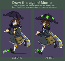 Meme: Draw This Again 2013 by forte-girl7