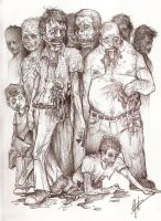 Zombies by JeffyP