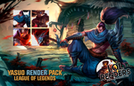 League of Legends Yasuo Render Pack by ViciousBlue