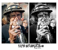 Keith Richards by FilipR8