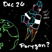 Pokeddex Challenge - Dec 26 PORYGON by ArwingPilot114