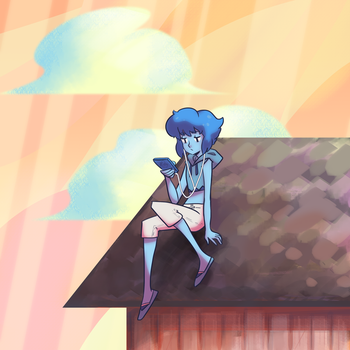 Lapis chilling by OOT-Link