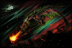Comm: Reign of Fire by Amadoodles