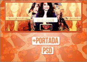 +PortadaPSD//Demi*u* by KammyBelieberLovatic
