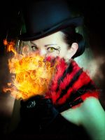 Death in fire by Eve-VelvetRose