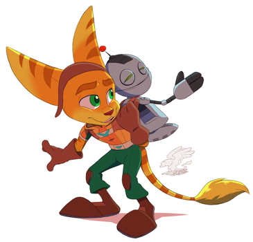 .Ratchet and Clank. by faster-by-choice