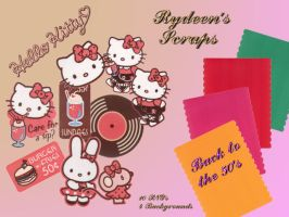 Hello Kitty - Back to the 50's by RYDEEN-05-2