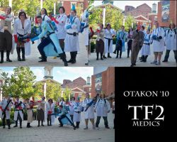 TF2 Photoshoot- Medics by xXOnigamiXx