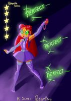 Contest Prize: Starfire's Hi Score by Parke-Chase
