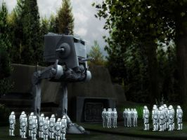 Endor troops by Spydraxis01