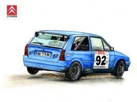 Citroen AX Rally by SL-Cardesign