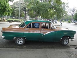 Havana Car Stock 3 by Amor-Fati-Stock