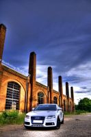 Audi A4 HDR by xMAXIx