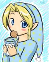 A Midnight Snack With Link by HarukoChan001