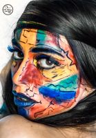 Earth and Mineral Pigments Face Paint by CPA-x-e-n-o-i