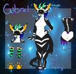 Gabriel reference 2.0 by GalaxyPuppy