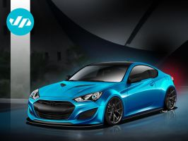 JP Edition Genesis Coupe by jonsibal