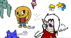 Back on iscribble by jkcafe
