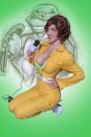 April O'Neil 3 by megmurrderher