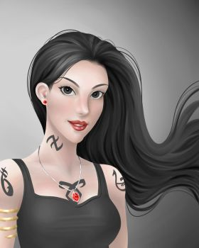 Isabelle Lightwood by lylac368