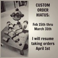 Custom Orders are going on vacation soon by HerArtSheLoves