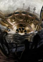 Steampunk: 44th Circle of Latitude by uxv