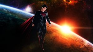 Man of Steel space by djpyro229