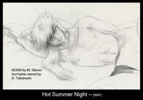 Hot Summer Night - WIP by M-Skirvin