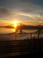 Sunrise over the Forth by Chrispynutt