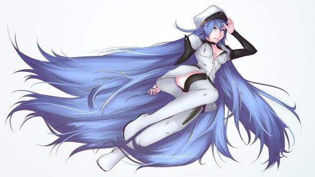 Esdeath [FanArt Akame ga Kill!] by ShineCzanek