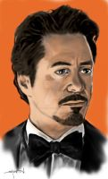 Tony Stark in color by StevenWilcox