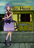 Aubergine And The Tea House by Scout73