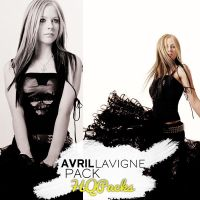 Pack 34 - Avril Lavigne by HQPacks