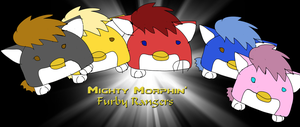 The Mighty Morphing Furby Rangers by Chibifangirl01
