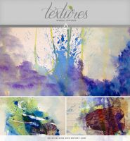 Textures - WaterColor Mayhem by So-ghislaine