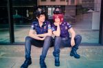 Police Officers by KNITEcos