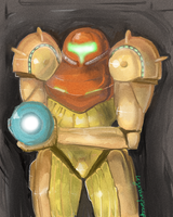 Samus ;( by LegendarySheep